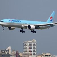 大韓航空 B773 FUK