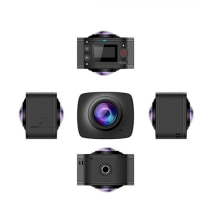 5%off-SYL-669 720° パノラマ式カメラ ミニ スポーツ アクション カメラ 室外HD ビデオカメラ WIFI 無線 0.96インチ スクリーン