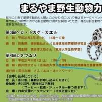 【札幌10/1】第4回まるやま野生動物カフェ「カタツムリ」