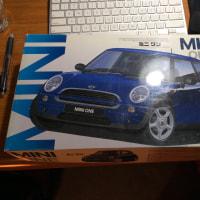 Miniのプラモデルをやっと買えた!