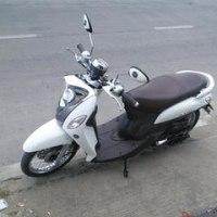 チェンマイで借りたレンタルバイク