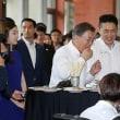 「韓中日で相次いで行われる五輪が朝鮮半島と北東アジアの平和を強固にする良い契機になるよう期待している」と強調した。