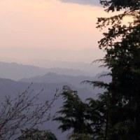 三峯で雲海見学にチャレンジ