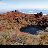 大船山の紅葉 10月24日