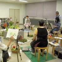 台風一過涼しい一日/絵画サークル雅会に参加