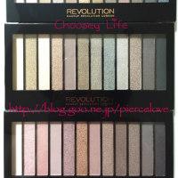 シマー系もマット系も発色良い! Makeup Revolution Iconic