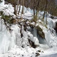 横谷狭 氷柱&瀑