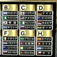 日本の初戦はオランダ@2010FIFAワールドカップ 南アフリカ大会 組み合わせ決定!