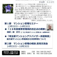 富士見市マンション交流会、第11回案内です。