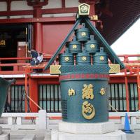 浅草寺の防火桶