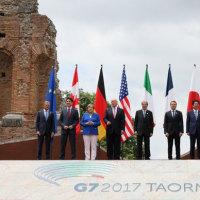 影のG7議長としてG7タオルミーナ・サミットを安倍首相が取り仕切る、トランプ大統領も満足!!