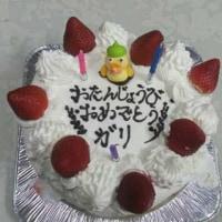 誕生日でした!