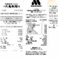 昨日と今日の優待生活 丸亀製麺・モスフード・東宝シネマ
