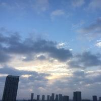 10/23の朝の空