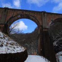 雪のめがね橋2017(その2)