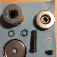 GPX250エンジンオイル交換。ついでにバイクの大掃除!