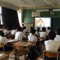 昨日、公立校では全国初というネットいじめの抑止「STOPit」の授業を見学。