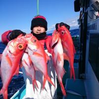 2月19日(日)新島キンメ釣果