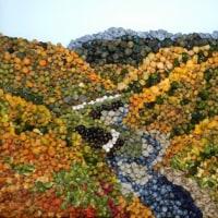 (768) 奈良俣ダムからの黄葉風景