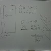 三田祭の準備&早慶合同展示会の訂正