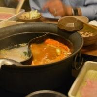 夜は温野菜で鍋食べ放題!