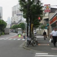 2015年 「秋の全国交通安全運動」で、街頭指導~北四町会・交通部