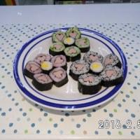 かわいい細巻き寿司 2