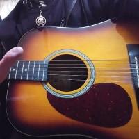最近夢中になっているギターと指