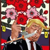 四季の花札賭博の移ろい