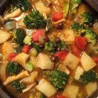 長芋とブロッコリーのスープ