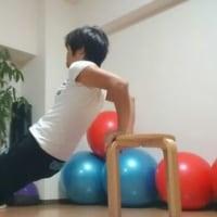 ゴルフ【グリップ安定】-二の腕&背中のトレーニング応用編