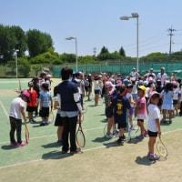 亀岡市 小学生のためのテニス体験教室 開催