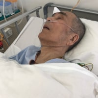 入院7日目の父