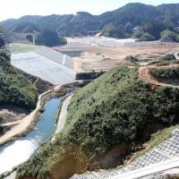 五ヶ山ダム試験湛水~現地報告