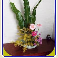 12月の生け花から
