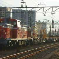 2017年2月27日  越中島支線  新小岩  DE10-1751 レール輸送列車 越中島工臨