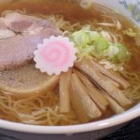 【menu】にぼしラーメン