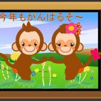 お猿さんをGifアニメに加工
