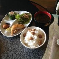 アブラツノザメの米粉焼き