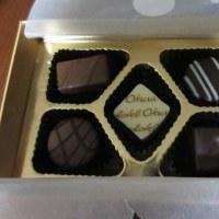 プレゼントのチョコ