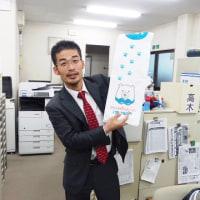 小野先生が華麗に「夏へのスマッシュ」です。