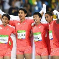 日本陸上の歴史的な1日!男子4×100mリレーで銀メダル!競歩も日本初のメダル!
