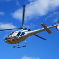 働く乗物~ヘリコプター。