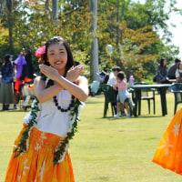 「フラダンス」 いわき フラワーセンターにて撮影! 地元の高校生