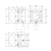 自作電動フルイの設計図