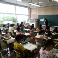 栄養教諭実習生 授業研究