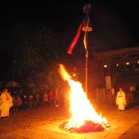 広峯神社 御柱祭