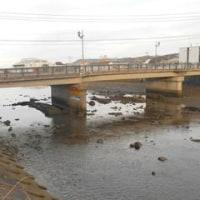 志佐川の水位