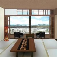 日田温泉亀山亭ホテル5階川側和室リニューアル