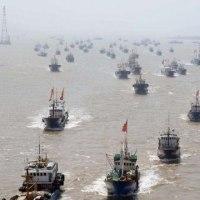 日本海北上中国漁船 1,268隻 韓国 イカ操業競合を最小限に